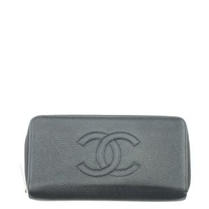 Chanel Matelasse Zippy Caviar Wallet 167485